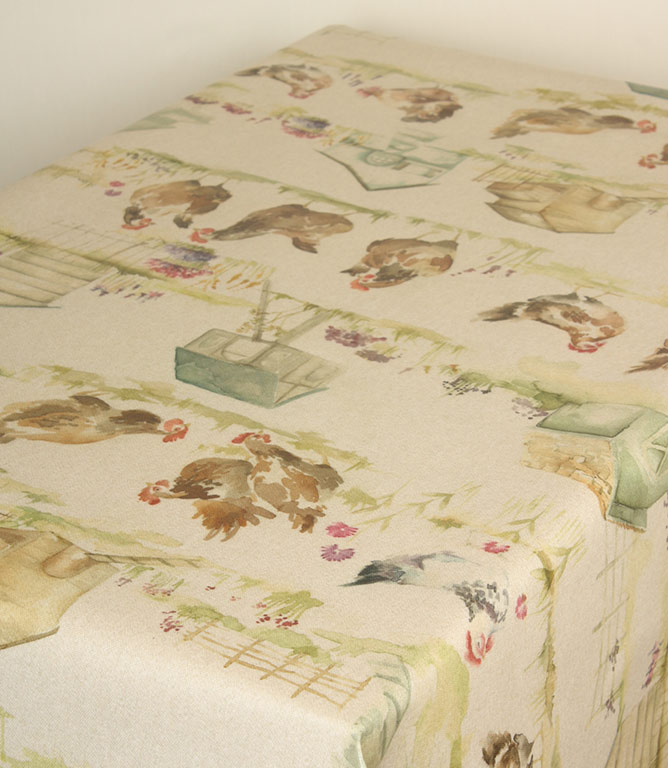 Voyage Decoration Henny Penny PVC Fabric / Linen