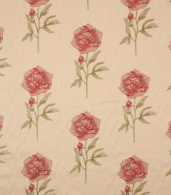 Peony / Ruby Fabric Remnant