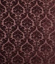Made to Measure Voyage Decoration Lucilla Fabric / Aubergine