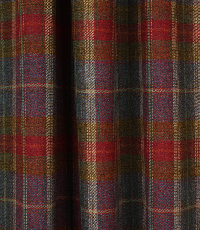 Balmoral Wool Clear Fabric / Winter