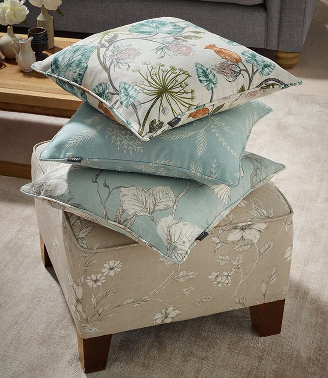 Parchment Fabric / Eau de nil