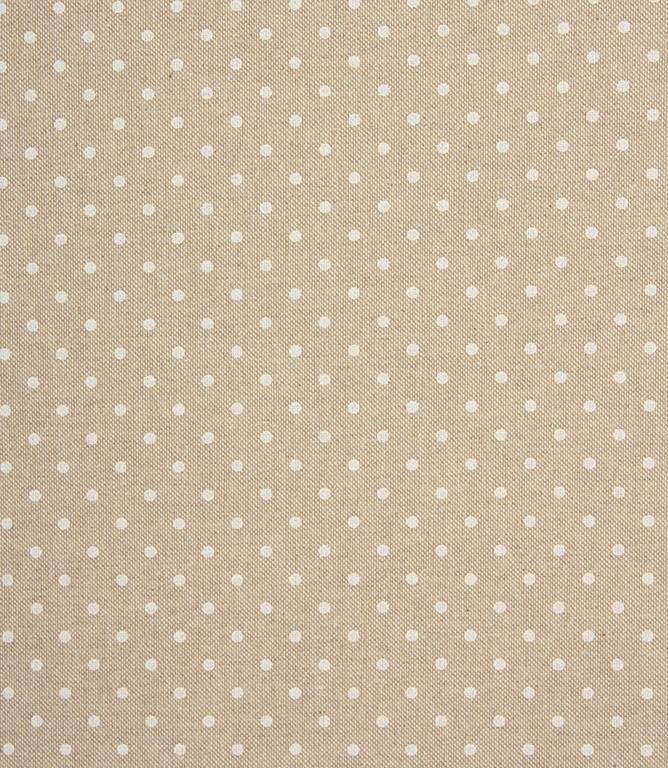 Spot Fabric / White