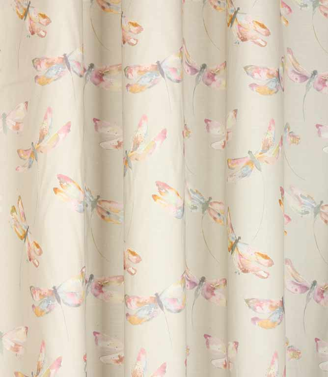 Interesting Dragon Fly Shower Curtain. Voyage Decoration Dragonflies Fabric  Coral Birch Just Fabrics