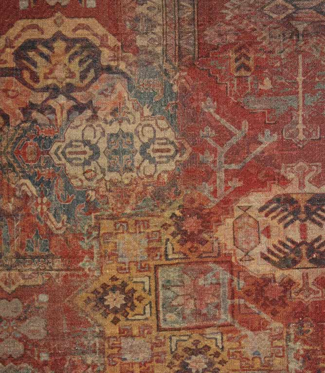 Byzantine Kilim Fabric Multi Just Fabrics
