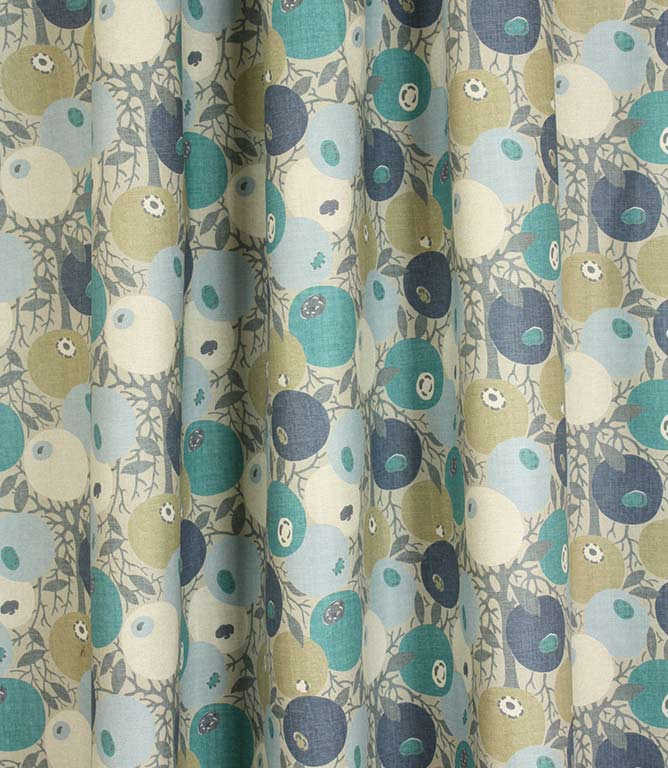 Blue Beaton Fabric Remnant