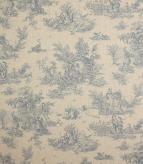 Blenheim Linen Fabric / Blue