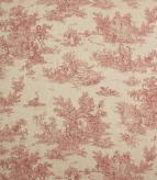 Blenheim Linen / Red Fabric