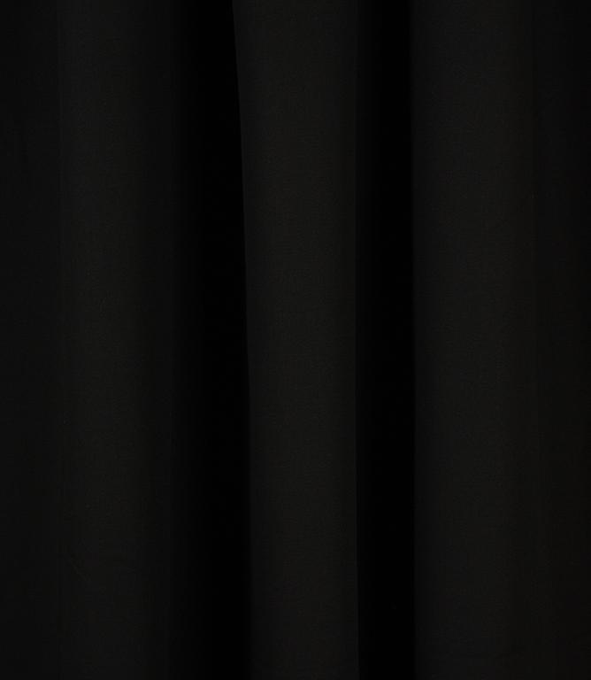 Cotton Drill Fabric / Black