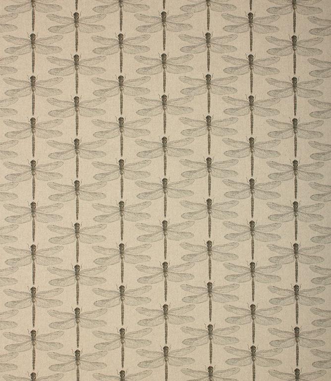 Nirvana Dragonfly Fabric / Natural