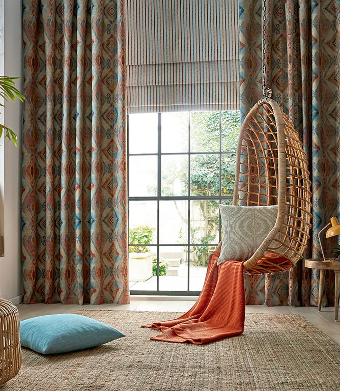 Fryett's Santa Cruz Fabric / Teal
