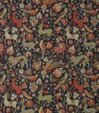 JF Tapestry Fabric / Navy