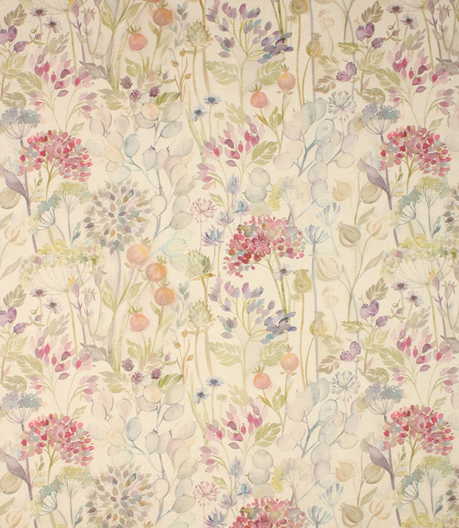 Classic linen Country Hedgerow Fabric