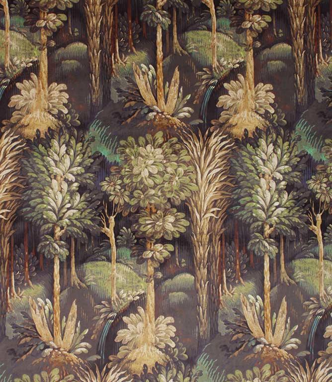 Forbidden Forest Fabric / Ebony