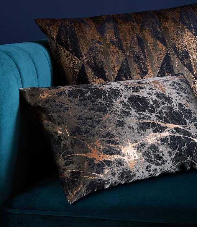 Fryett's Lava Fabric / Charcoal