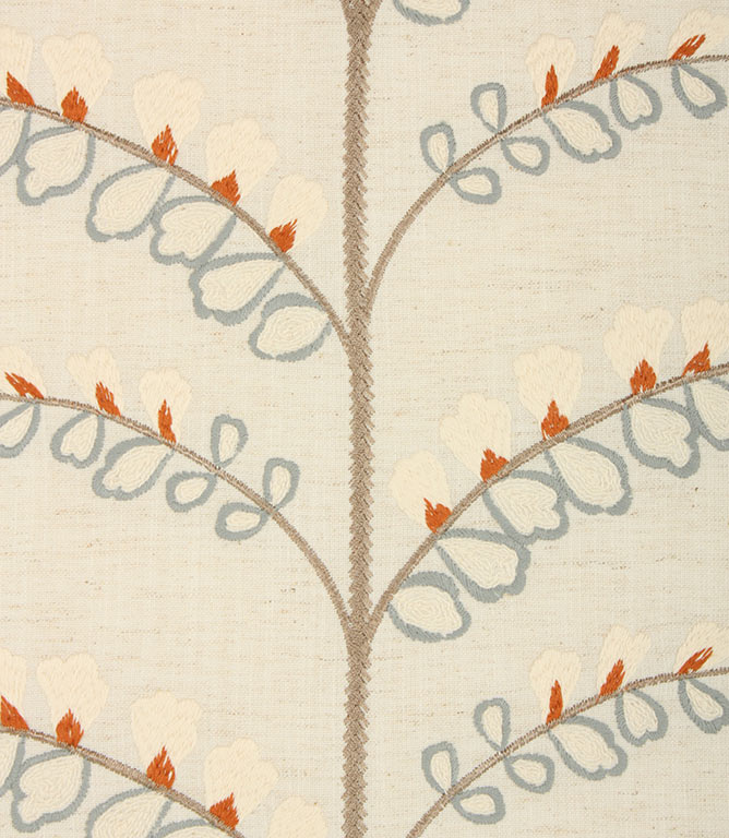 Burnt Orange Portland Fabric Remnant