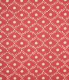 Daisy Trellis / Raspberry Fabric