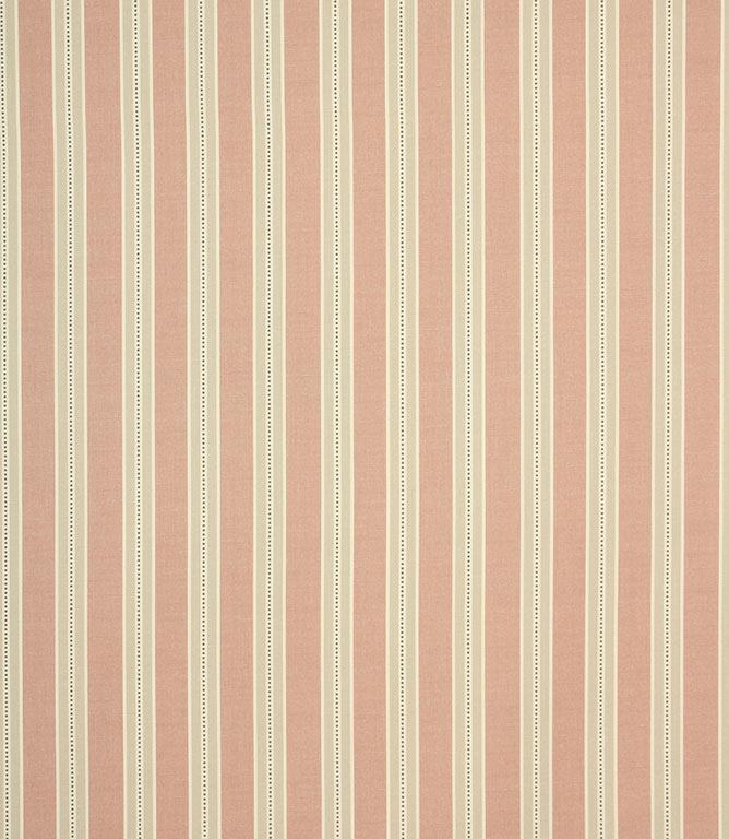 Daisy Stripe Fabric / Blush