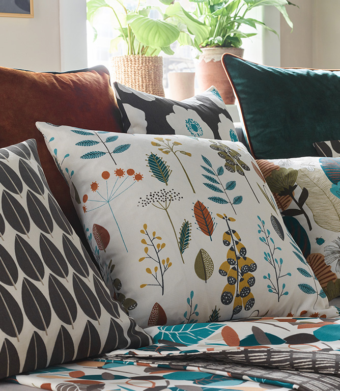 Amala Fabric / Spruce