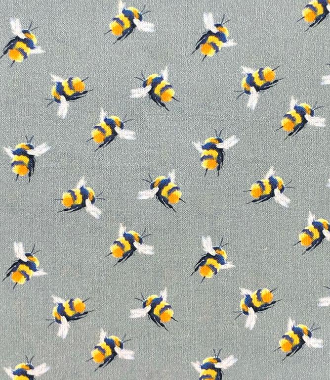 Bumblebee Fabric / Dark Grey