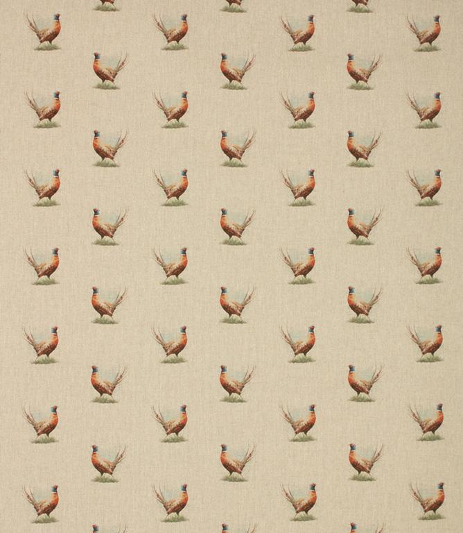 Pheasants Fabric / Linen