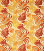 Tropical Outdoor Fabric / Red