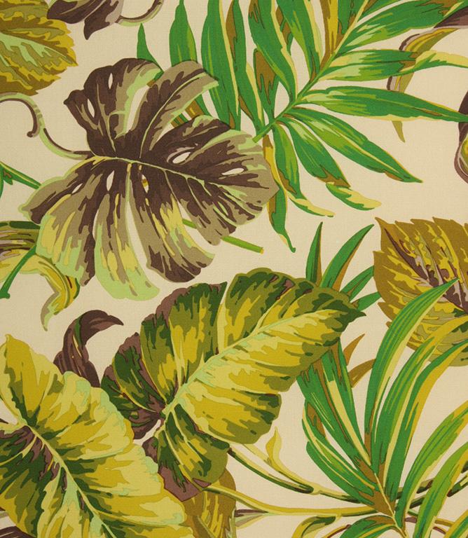 Tropical Outdoor Fabric / Green
