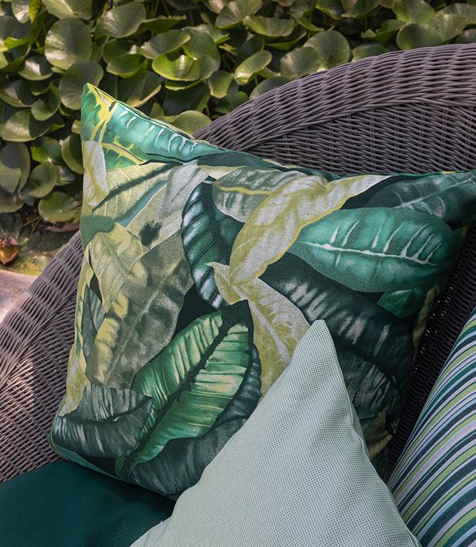 Jungle Outdoor Fabric / Verde