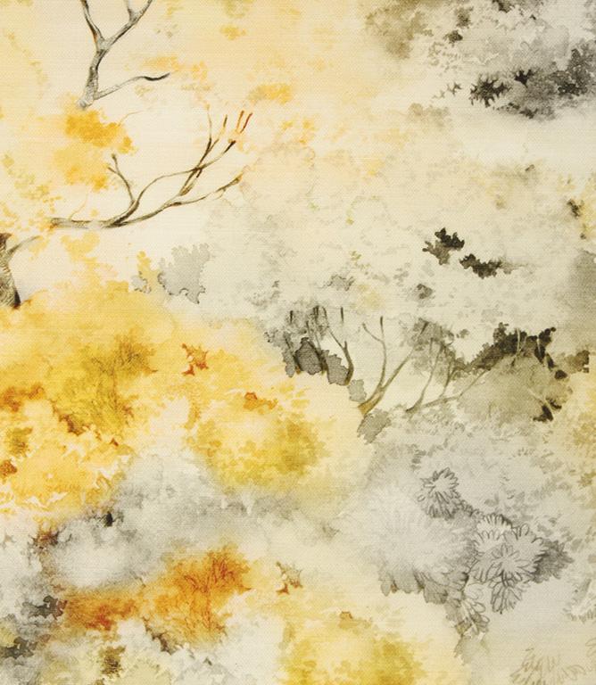 Fibre Naturelle Fabrics Claude Fabric / Ochre