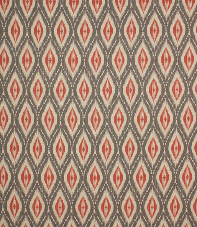 Red Nailsworth Fabric