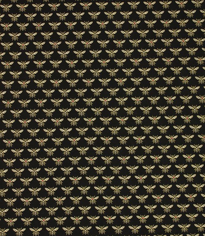 Vespa Bees Fabric / Gold / Noir