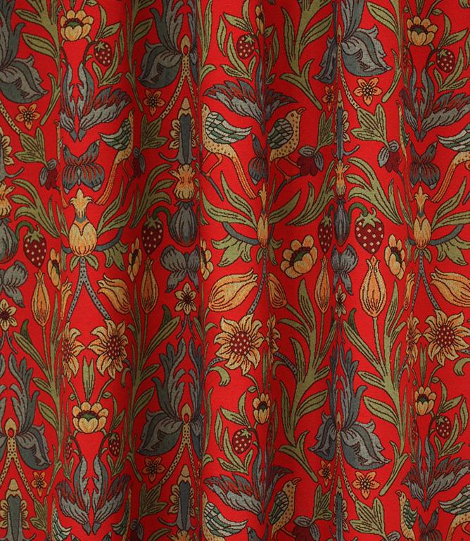 Ruskin Fabric / Red
