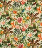 Lima Jungle Outdoor / Natural Fabric