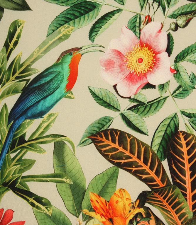 Lima Jungle Outdoor Fabric / Natural