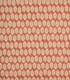 Oak Leaf Fabric / Paprika
