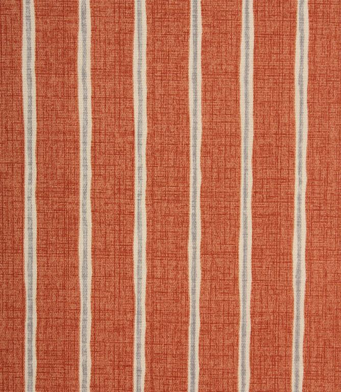 iLiv Rowing Stripe Fabric / Paprika