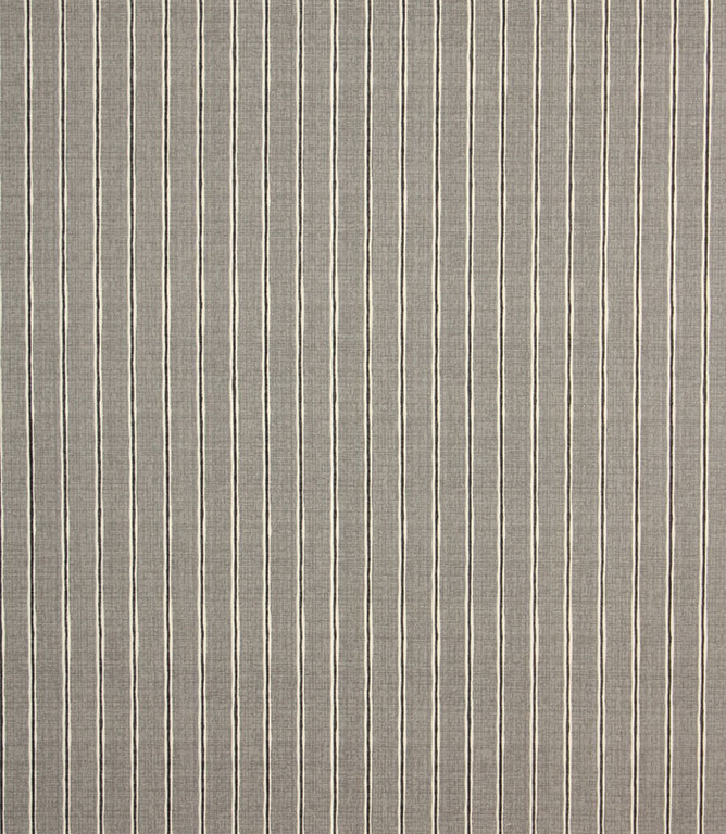 Pewter Rowing Stripe Fabric