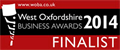 West Oxfordshire Business Awards 2014 - FInalist