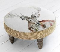 Footstools & Ottomans / Stag Cato Footstool