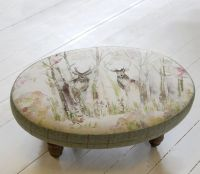 Footstools & Ottomans - Enchanted Forest Ceres Footstool