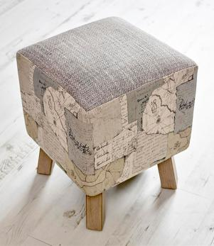 Footstools & Ottomans / Explorer Toby Footstool