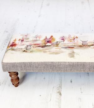 Footstools & Ottomans - Caledonian Forest Mya Footstool