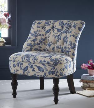 Statement Chairs - Odette Amelia Blue