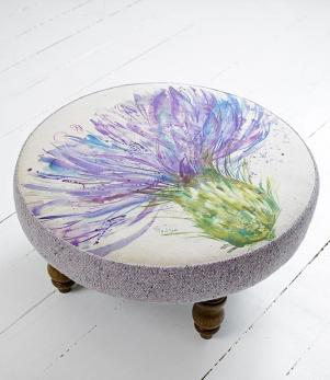 Footstools & Ottomans - Expressive Thistle Cato Footstool