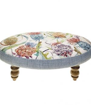 Footstools & Ottomans - Meadwell Pomegranate Ceres Footstool