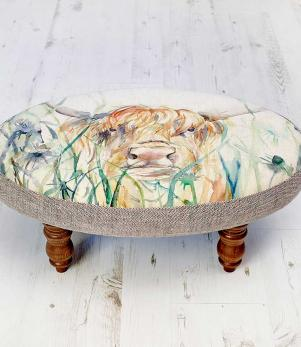 Footstools & Ottomans - Bramble View Ceres Footstool