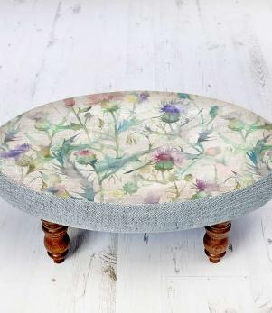 Footstools & Ottomans - Circuin Damson Ceres Footstool