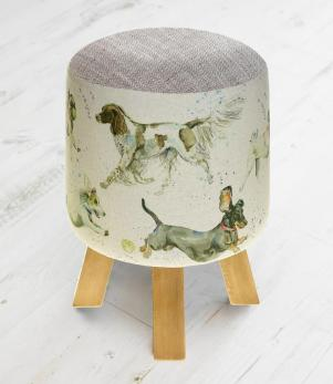 Footstools & Ottomans - Dashing Dogs Monty