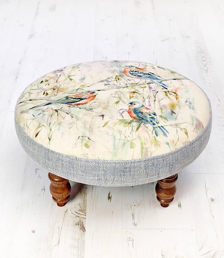 Footstools & Ottomans - Chaffinch Cato Footstool