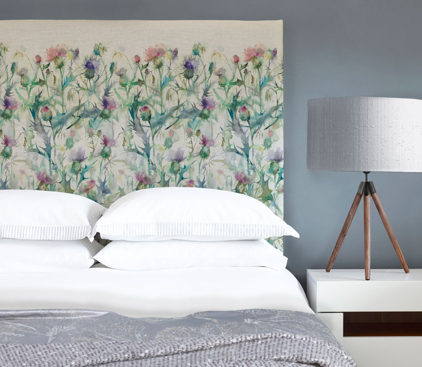 JF Headboards - Damson Bristle Headboard