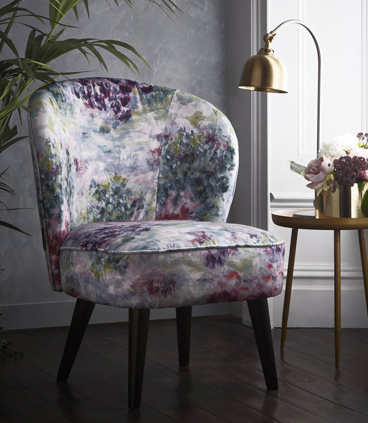 Clarke & Clarke Statement Chairs  - Ascot Chair Fiore